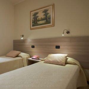 Camera doppia hotel Da Romagnolo, a Noventa Vicentina