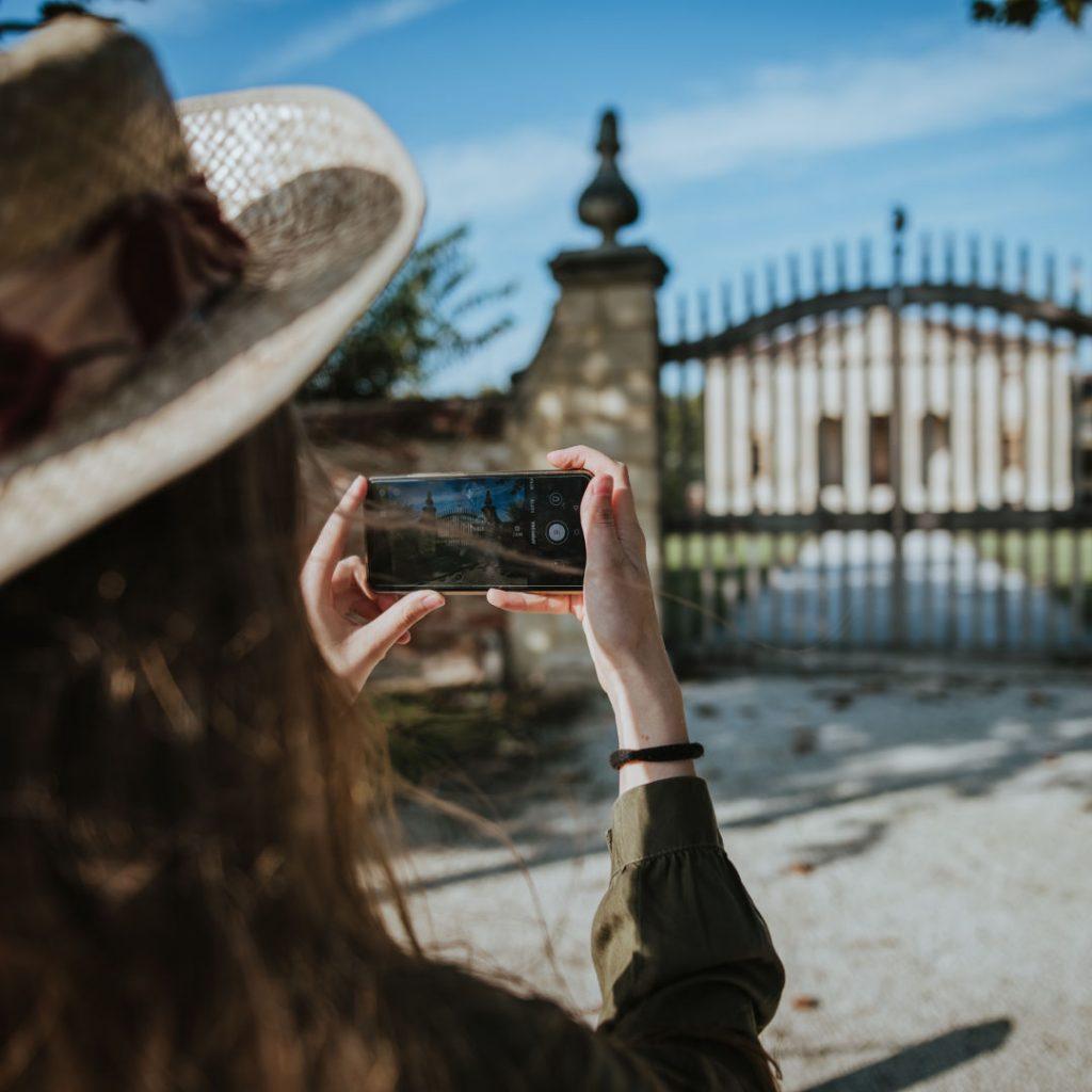 Foto smartphone Villa Saraceno