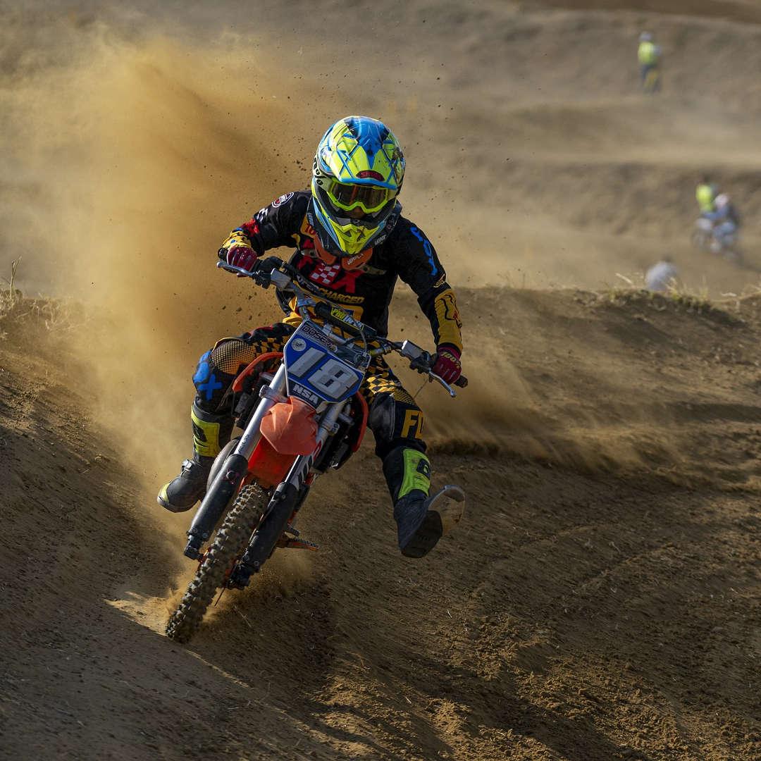 Pilorta di motocross