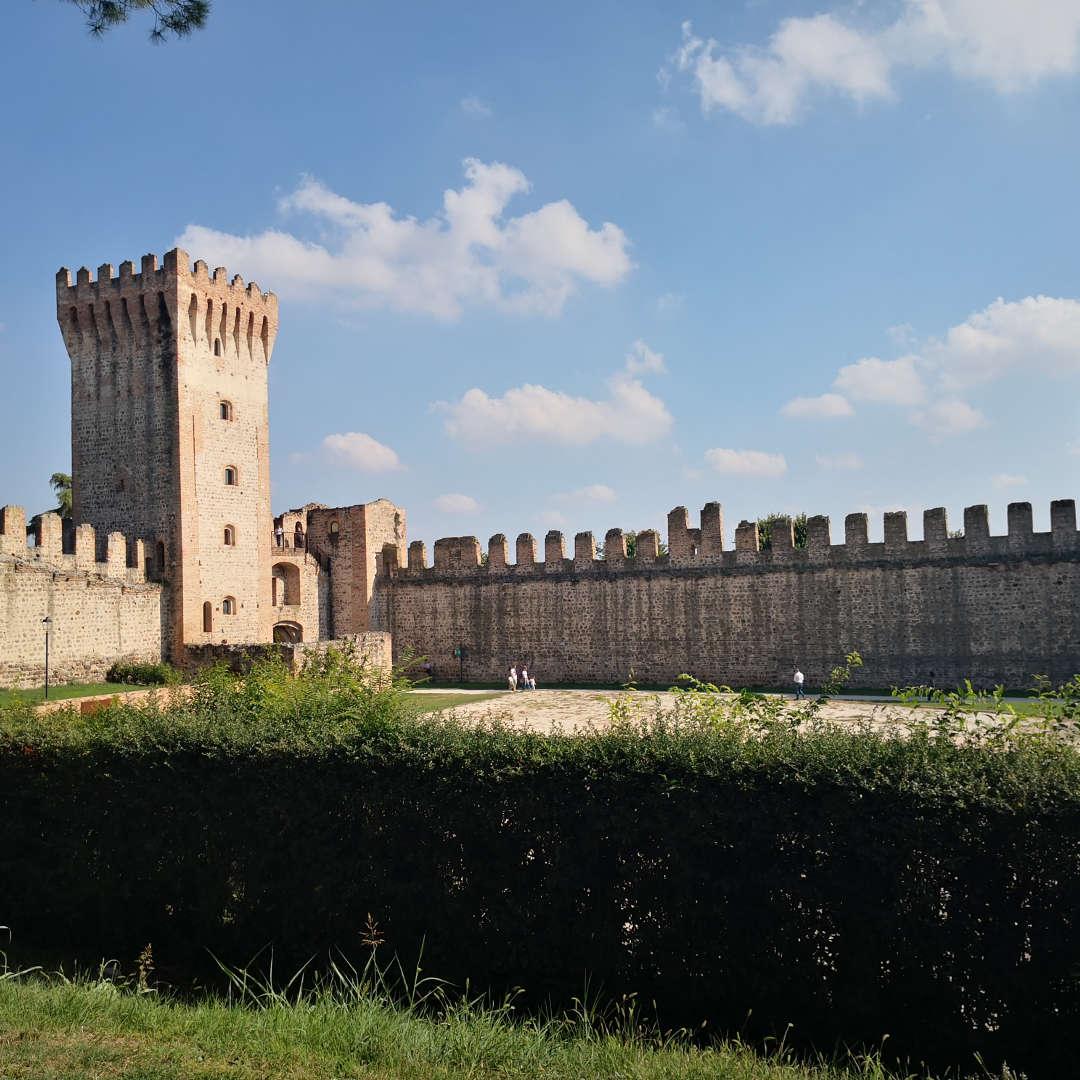 Mura castello di Este